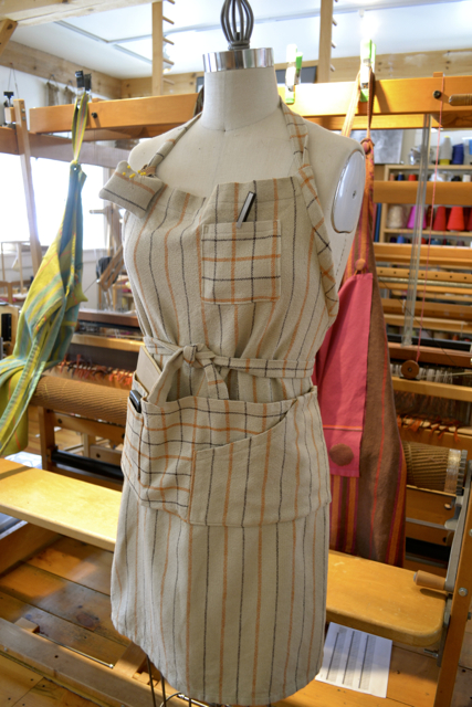 Natural Cottolin Apron