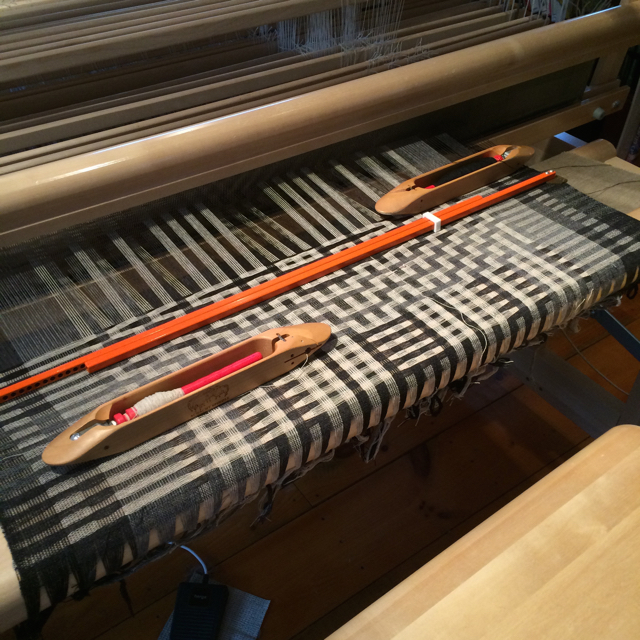 Denver on loom