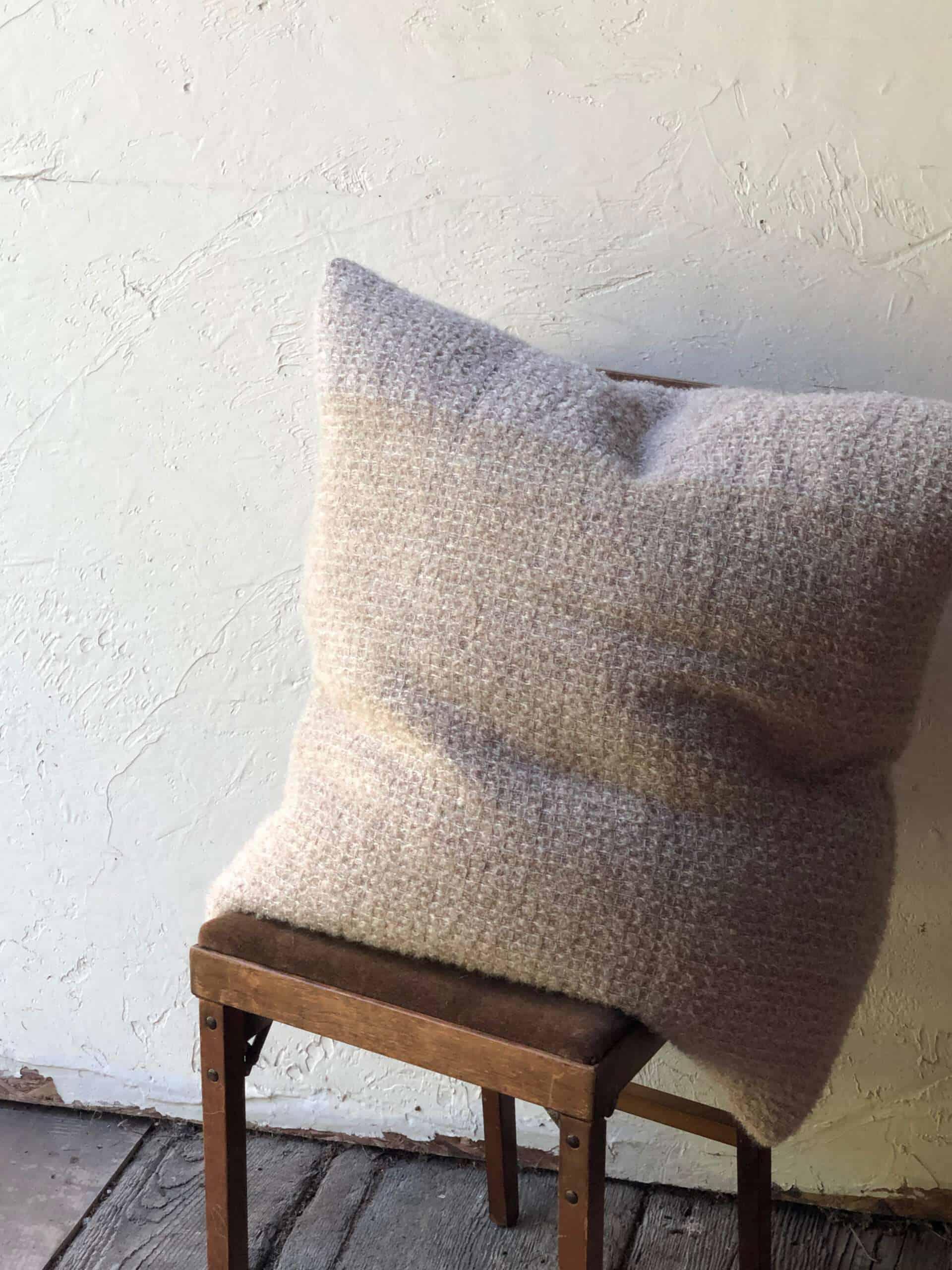 Kid Mohair Pillow